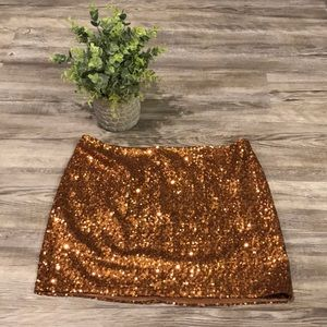 MM Couture by Miss Me Sequin Miniskirt NWOT
